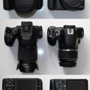 Vergleich HS50EX mit 450D