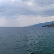 Panorama von Opatijas Küste
