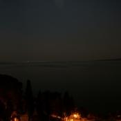 Nachtpanorama vom Hotelbalkon