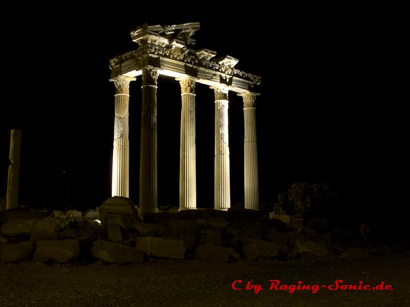 Die Säulen in Side/Türkei
