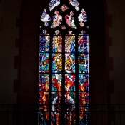 Kirchenfenster in Heidelberg