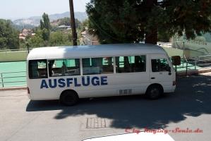 Der Superbus mitte die Klimaanlage